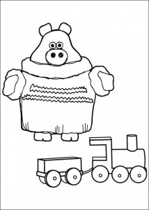 coloring page Timmy Time (30)