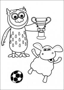 coloring page Timmy Time (35)