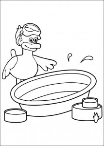 coloring page Timmy Time (37)
