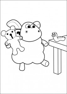 coloring page Timmy Time (38)