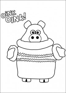 coloring page Timmy Time (39)