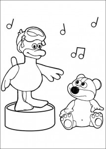 coloring page Timmy Time (4)
