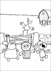 coloring page Timmy Time (42)