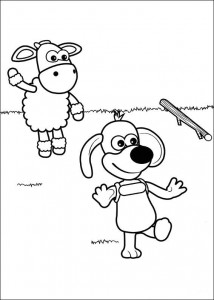 coloring page Timmy Time (8)