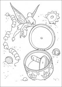 pagina da colorare Tinkelbel (10)