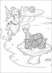 pagina da colorare Tinkelbel (13)