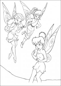 pagina da colorare Tinkelbel (14)