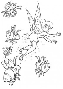 coloring page Tinkelbel (16)