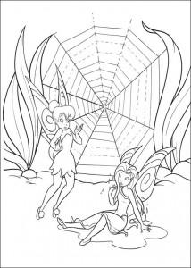 pagina da colorare Tinkelbel (17)