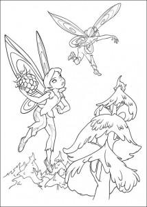pagina da colorare Tinkelbel (2)