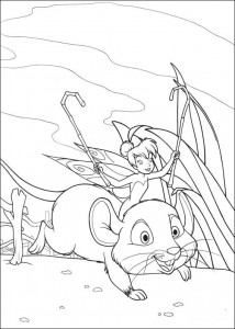 pagina da colorare Tinkelbel (23)