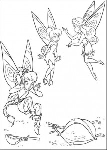 pagina da colorare Tinkelbel (26)