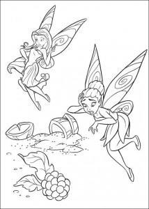 pagina da colorare Tinkelbel (27)