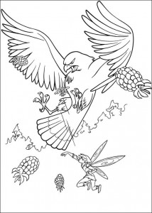 målarbok Tinkelbel (3)