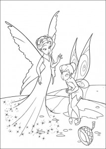 pagina da colorare Tinkelbel (30)