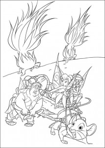 pagina da colorare Tinkelbel (32)