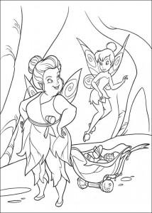 pagina da colorare Tinkelbel (33)