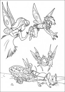 pagina da colorare Tinkelbel (37)