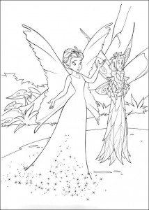 pagina da colorare Tinkelbel (38)