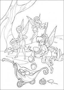 pagina da colorare Tinkelbel (39)