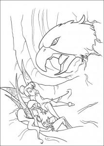 pagina da colorare Tinkelbel (4)