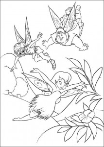 pagina da colorare Tinkelbel (40)