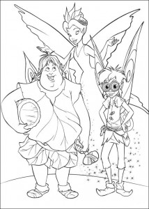 pagina da colorare Tinkelbel (41)