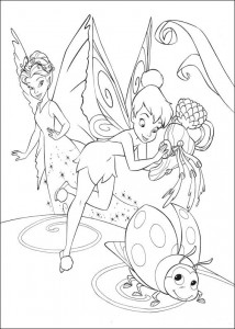 pagina da colorare Tinkelbel (43)