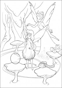 pagina da colorare Tinkelbel (45)