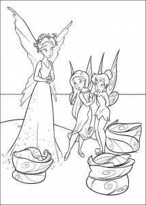 pagina da colorare Tinkelbel (47)