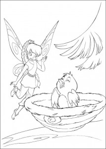 pagina da colorare Tinkelbel (48)