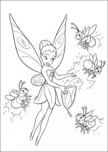 coloring page Tinkelbel (49)