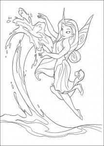 pagina da colorare Tinkelbel (52)