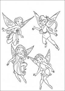 coloring page Tinkelbel (53)