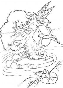 pagina da colorare Tinkelbel (56)