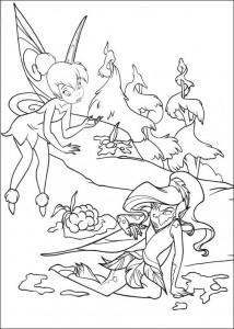 pagina da colorare Tinkelbel (6)
