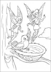 pagina da colorare Tinkelbel (9)