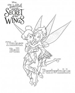 coloring page Tinkerbell Secret of the WIngs (1)