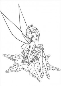 coloring page Tinkerbell Secret of the WIngs (10)