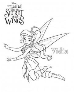 kleurplaat Tinkerbell Secret of the WIngs (3)