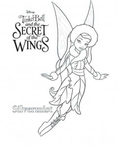 coloring page Tinkerbell Secret of the WIngs (4)