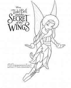 kleurplaat Tinkerbell Secret of the WIngs (4)