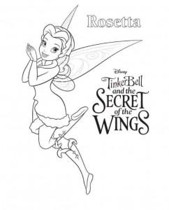 kleurplaat Tinkerbell Secret of the WIngs (5)