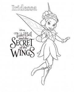 kleurplaat Tinkerbell Secret of the WIngs (6)