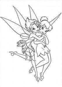 kleurplaat Tinkerbell Secret of the WIngs (8)