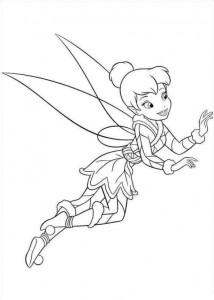 kleurplaat Tinkerbell Secret of the WIngs (9)