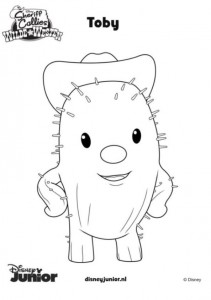 toby coloring page