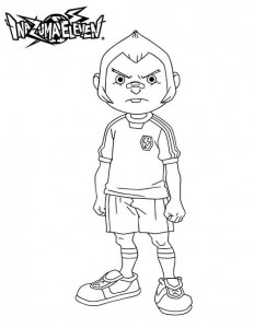 coloring page Tod Ironside
