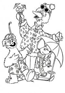 målarbok Tommy, Ieniemienie och Pino på semester