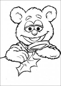 coloring page Tommy investigates